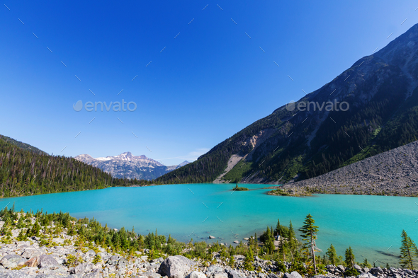 Joffre lake - Stock Photo - Images