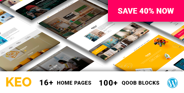 KEO – 16 in 1 Complex Multipurpose WordPress Theme