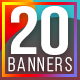 Instagram Promotional Baners - GraphicRiver Item for Sale