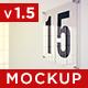15 Glass Plate Mockups - GraphicRiver Item for Sale