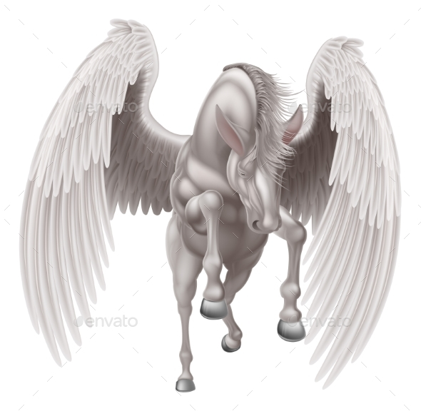 Pegasus Winged Horse - Animals Characters