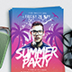 Summer party Flyer vol.7