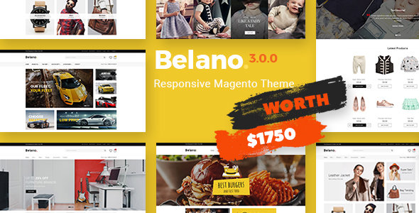 Belano - Fastest & Most Customizable Magento 2 Theme - Magento eCommerce