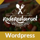 Food Court Restaurant WordPress Theme