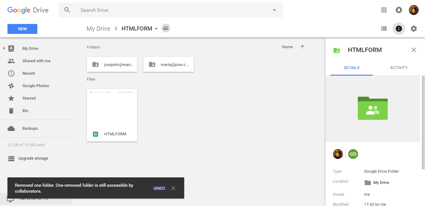 HTML5 Upload Form App Script Google Sheet by marioduarte | CodeCanyon