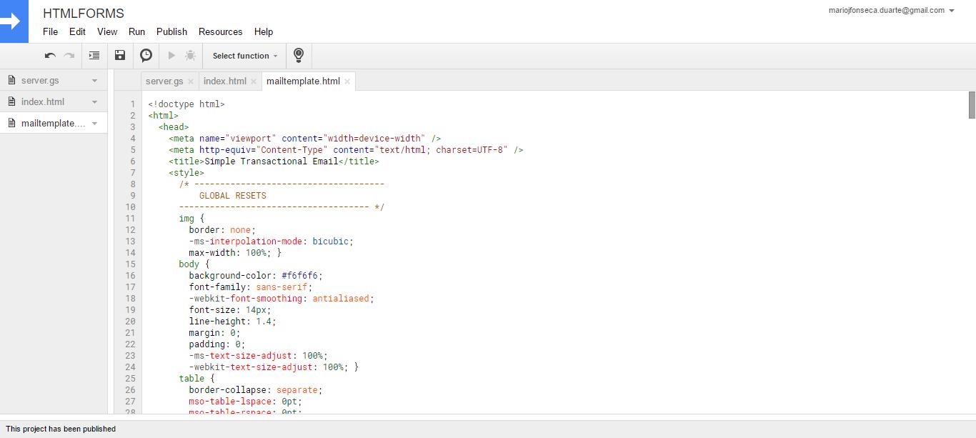 google sheet to pdf script