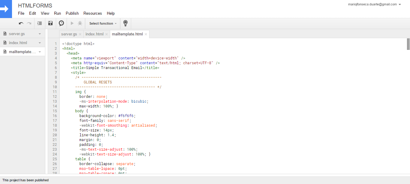 HTML5 Upload Form App Script Google Sheet by marioduarte | CodeCanyon