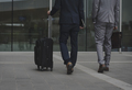 Business Men Walk Talk Luggage - PhotoDune Item for Sale
