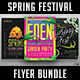 Spring Festival Flyer Bundle - GraphicRiver Item for Sale