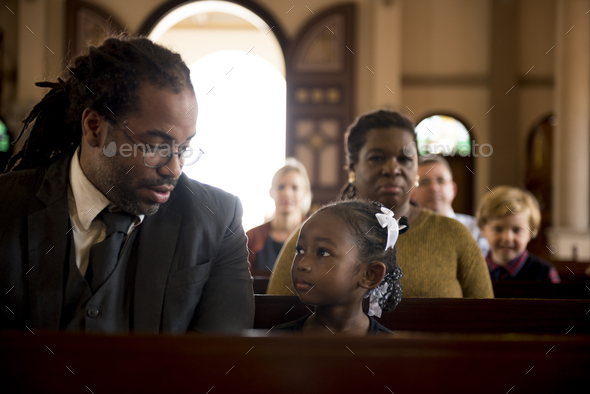 Church People Believe Faith Religious - Stock Photo - Images