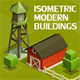 Isometric Modern Buildings - GraphicRiver Item for Sale