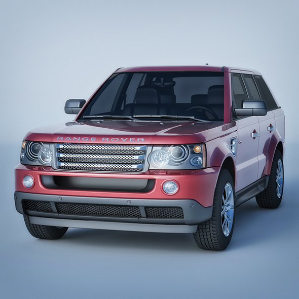 Vray Ready Range Rover Car - 3DOcean Item for Sale