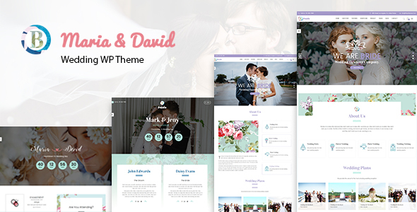 Image of Bride - Wedding WordPress Theme