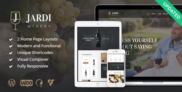 Jardi | Winery, Vineyard & Wine Shop - Business Corporate
