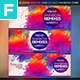 Rainbow Remixes Facebook Cover - GraphicRiver Item for Sale