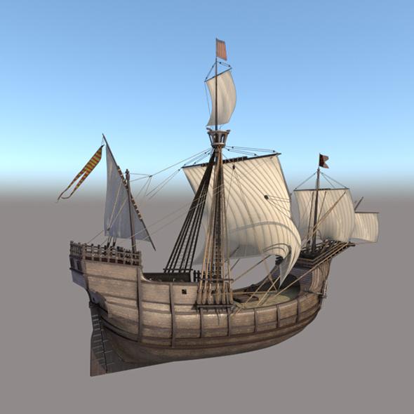 Caravela - 3DOcean Item for Sale