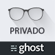 Privado - Minimal Blogging Theme for Ghost Nulled
