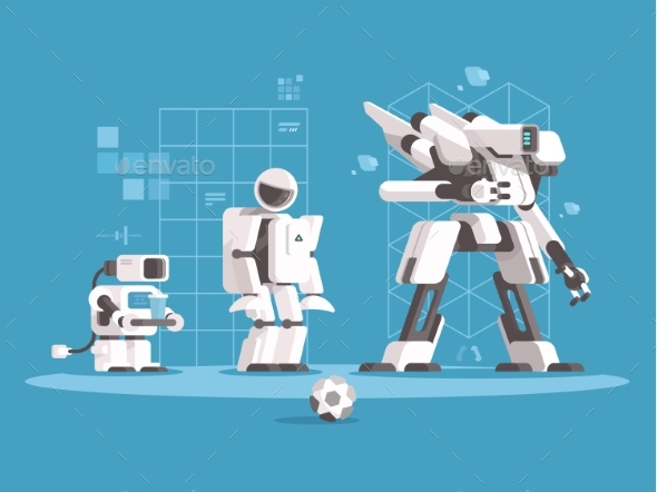 Evolution of Robotics - Miscellaneous Characters