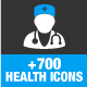 Health & Medical Icons - GraphicRiver Item for Sale