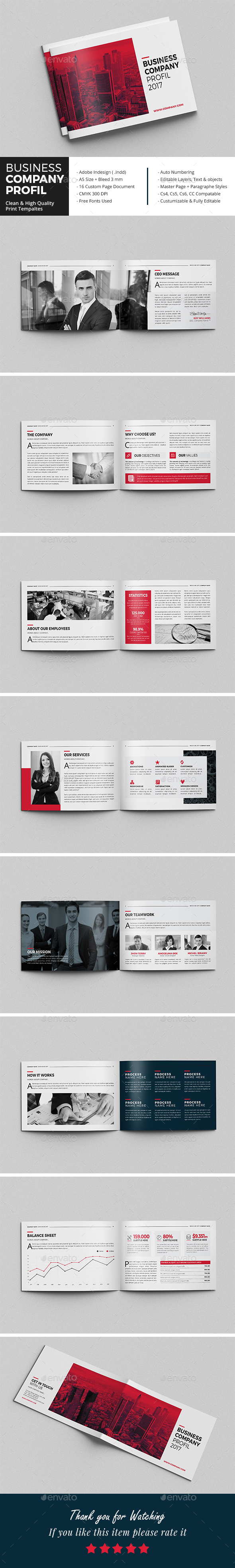 Business Company Profil - Corporate Brochures
