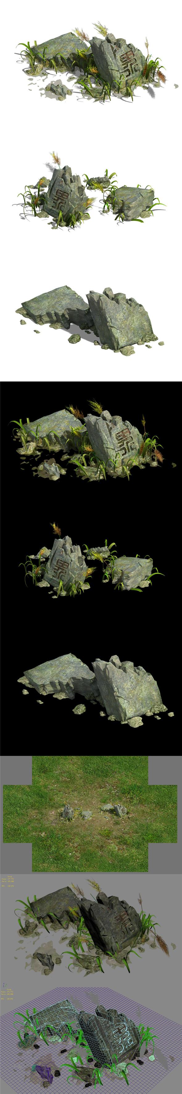 Grassland - Boundary - 3DOcean Item for Sale