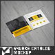 Square Brochure / Catalog Mock-Up - GraphicRiver Item for Sale