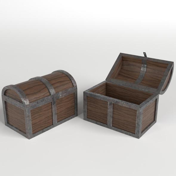 Treasure Chests - 3DOcean Item for Sale
