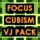 Focus - Cubism. Seamless VJ Loop Pack - VideoHive Item for Sale