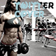 Jym Fitness Twitter Cover - GraphicRiver Item for Sale