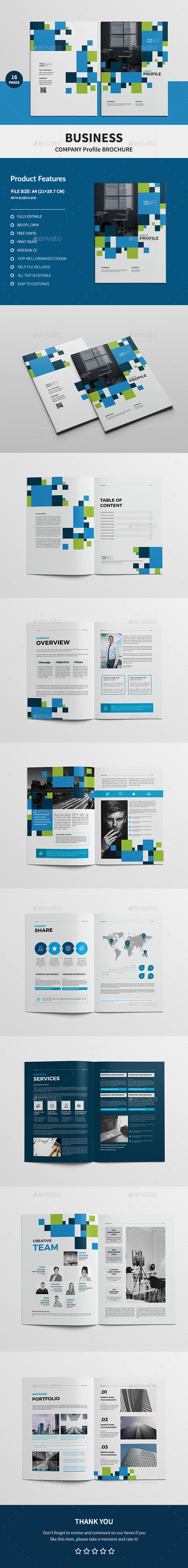 Business Company Profile Brochure - Corporate Brochures