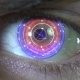Animation of the Eye with Holograms - VideoHive Item for Sale