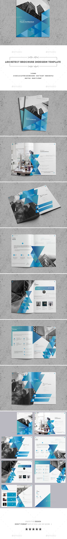 Architect Brochure Indesign Template - Brochures Print Templates