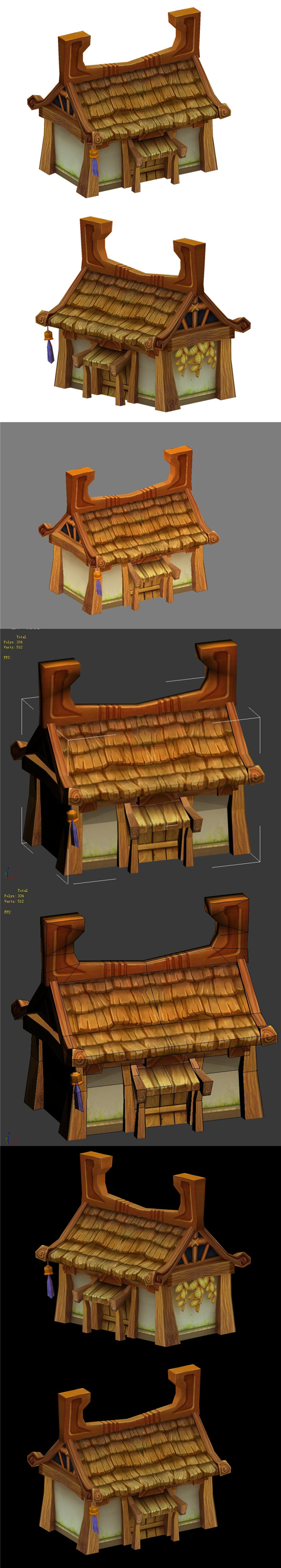 Low mold games - houses - 3DOcean Item for Sale