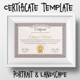 Certificate Template Vintage - GraphicRiver Item for Sale