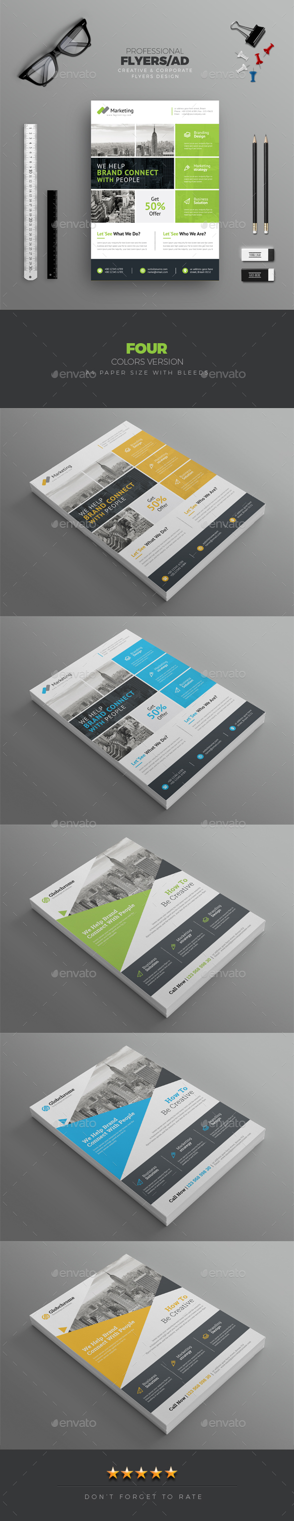 Flyer Bundle - Corporate Flyers