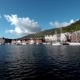 Port of Old Hanseatic in Bergen, Norway