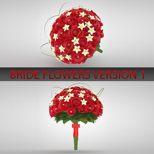 Bride flower version 01 - 3DOcean Item for Sale