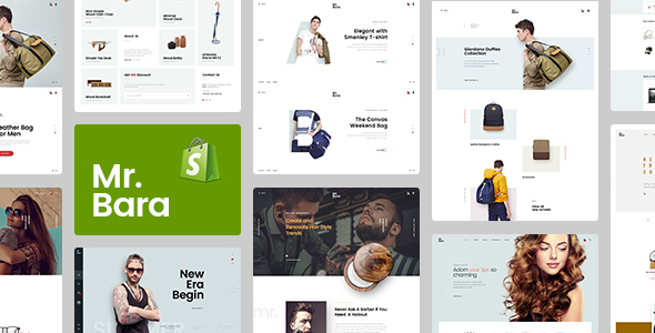 Image of Mr.Bara – Responsive Ecommerce Shopify Template