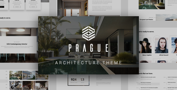 Prague - Architecture and Interior Design WordPress Theme