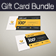 Gift Card Bundle - GraphicRiver Item for Sale