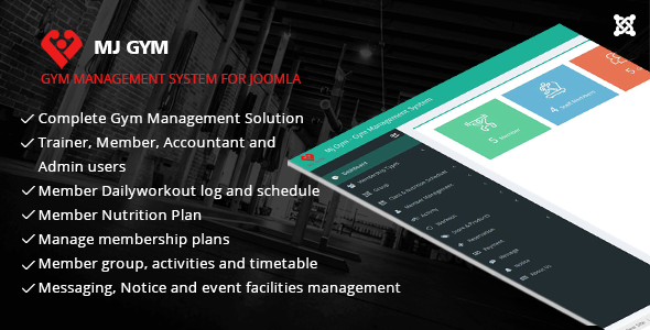 MJ Gym - Gym Management System - CodeCanyon Item for Sale