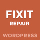 Phone, Computer Repair Shop Responsive WordPress Theme - Fixit Nulled