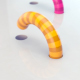 Colorful Worms Loop Background - VideoHive Item for Sale