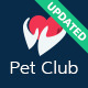 Pet Club - Services, Adoption, Dating &Community - ThemeForest Item for Sale