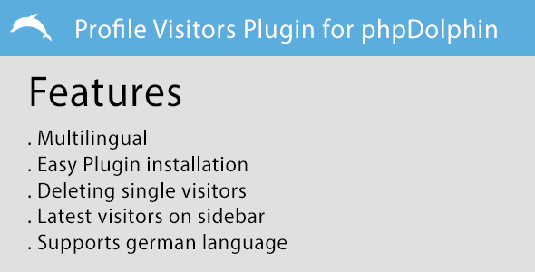 Profile Visitors Plugin for phpDolphin - CodeCanyon Item for Sale