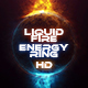 Liquid Fire Energy Ring
