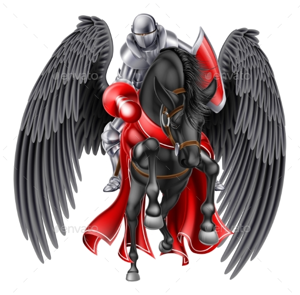 Pegasus Knight - Animals Characters