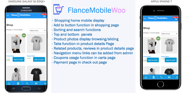 FlanceMobileWoo – Woocommerce Mobile Theme