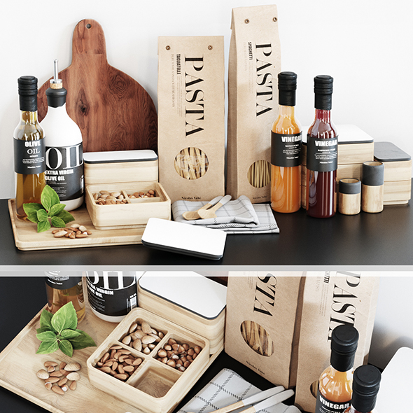 Kitchen set 2 - 3DOcean Item for Sale