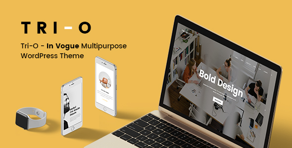 Tri-O - In Vogue Multipurpose WordPress Theme